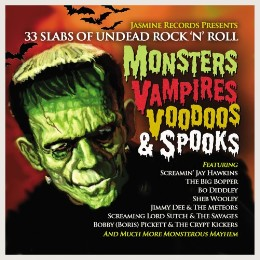 Monsters, Vampires, Voodoos & Spooks – v/a