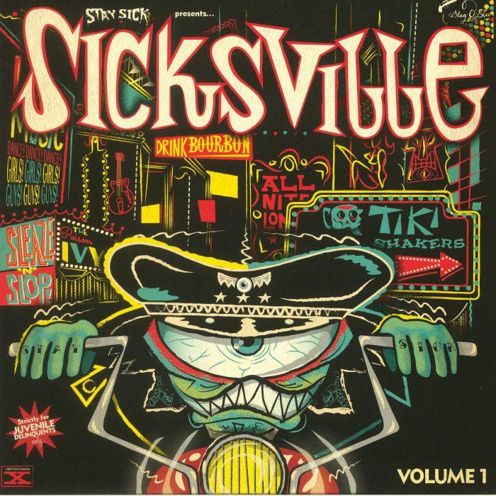 "Sicksville vol 1 10 "" – v/a"