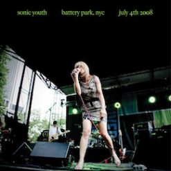 Sonic Youth – battery park, NYC: july 4, 2008