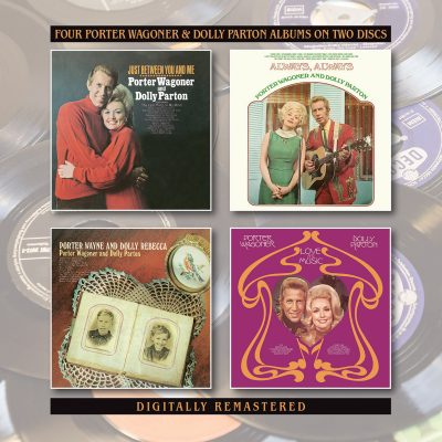 Porter Wagoner & Dolly Parton– just between you & me + 3