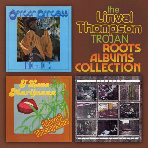 Linval Thompson - the Trojan Roots Albums Collection