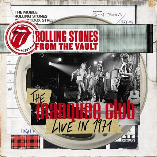 Rolling Stones – From The Vault – the Marquee Club live 1971 (cd/dvd)