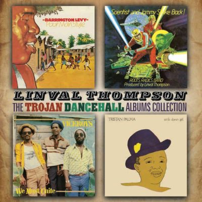 Linvall Thompson - the Trojan albums dancehall collection