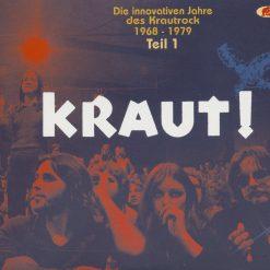 Kraut vol 1 - Die innovativen Jahre des Krautrock 1968-1979
