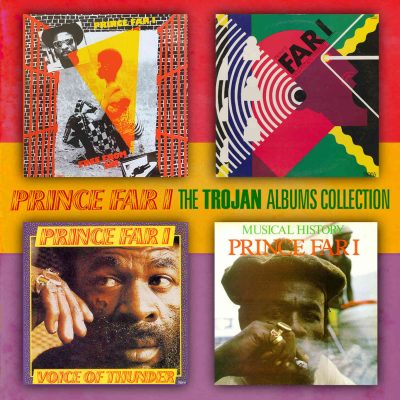Prince Far I -The Trojan albums Collection