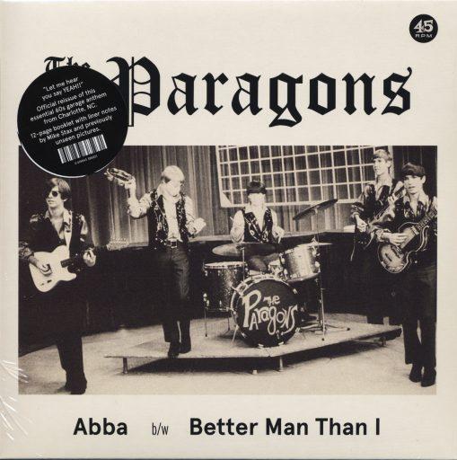 Paragons - abba/ better man than I